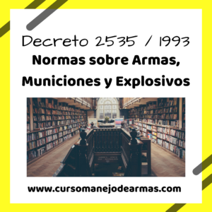 Decreto 2535/93